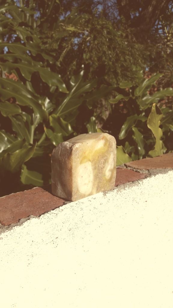 Sandstone Soap Citrussy soap with sand to scrub smooth your rough bits and refresh your soft bits